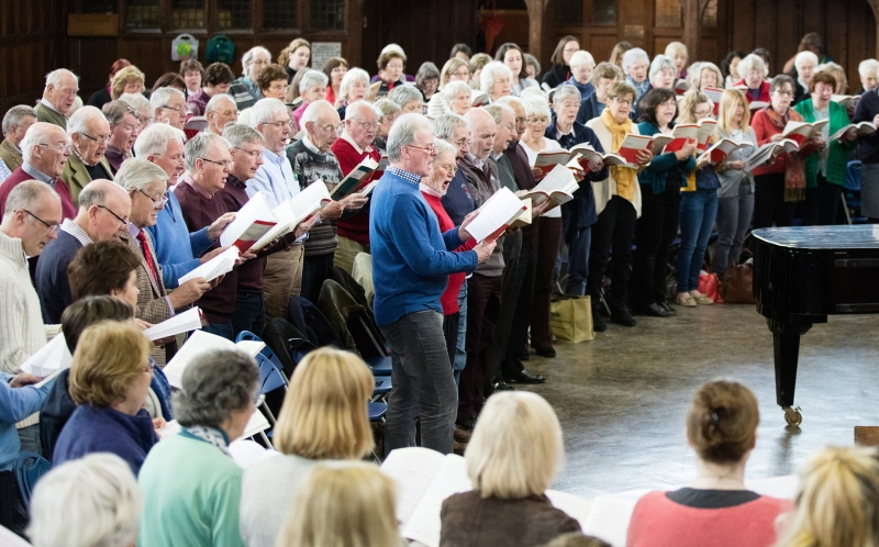 How to get involved with the Worcester Festival Choral Society