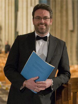 Ben Cooper, Chairman, Worcester Festival Choral Society